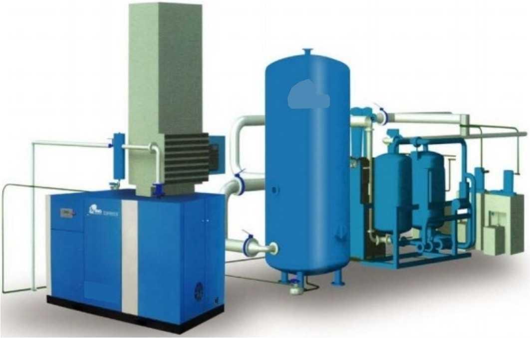hệ thống nén khí