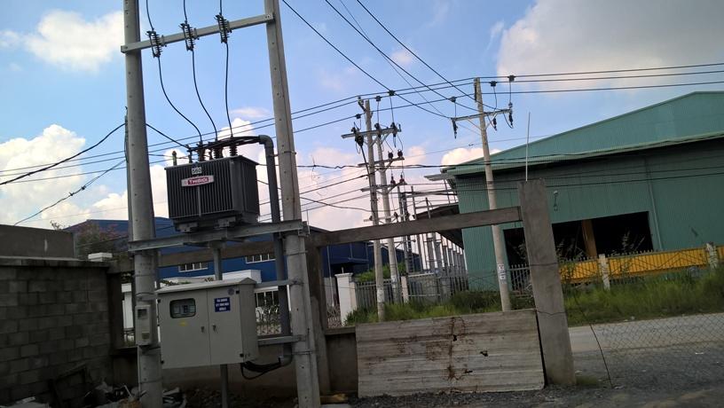 hệ thống tram biến áp
