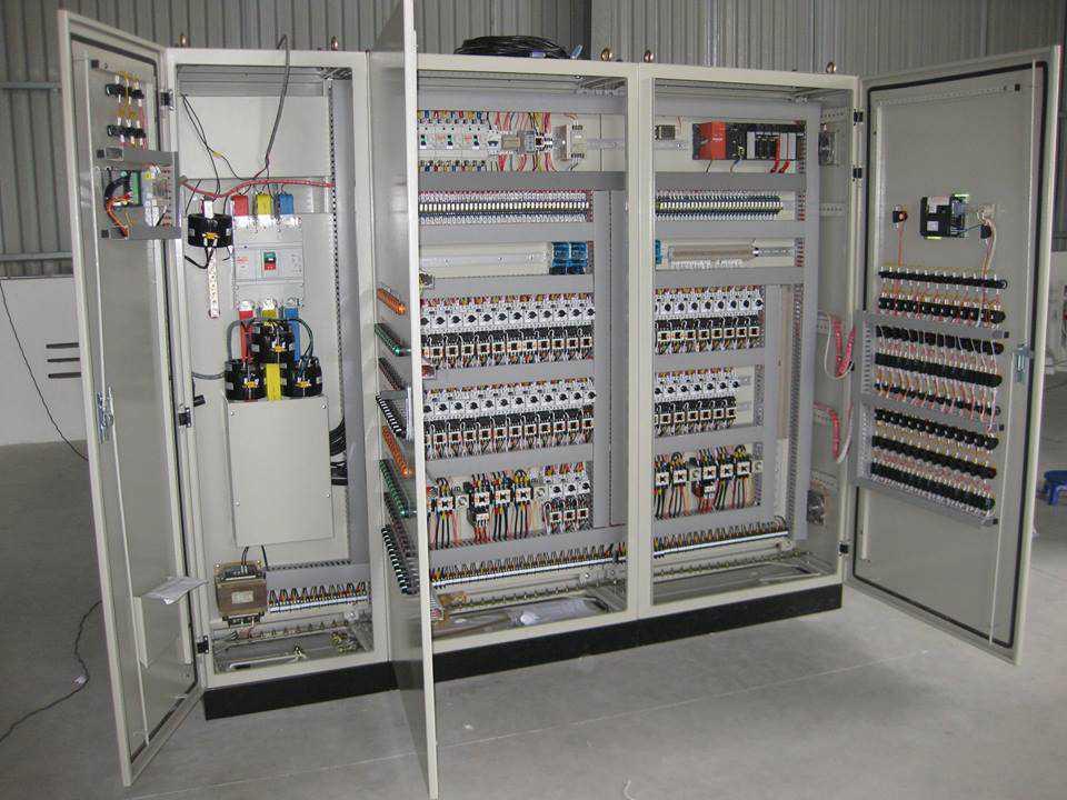 Thi công hệ thống tủ điện hạ thế
