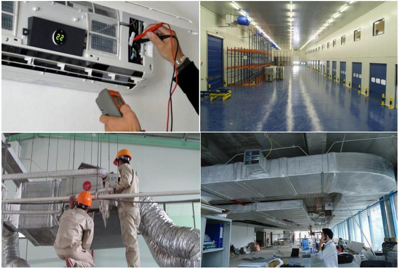 Hạng mục thi công lắp đặt hệ thống điện lạnh
