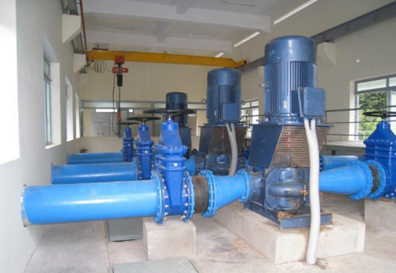 Thăng Long thi công tất cả hạng mục hệ thống cấp nước dùng cho sinh hoạt