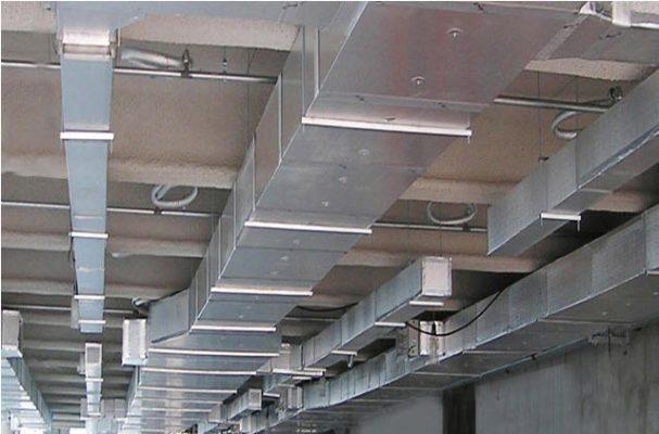 Hệ thống thông gió và điều hòa không khí